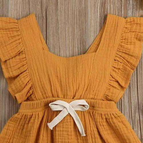 Baby Girls Clothes Romper Bodysuit Summer