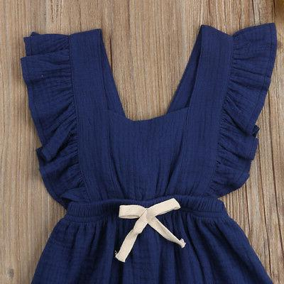 Baby Girls Romper Summer Outfits Set
