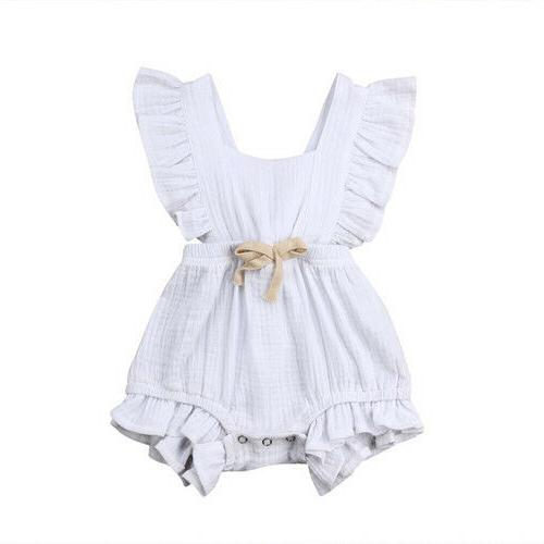 Baby Girls Romper Bodysuit Jumpsuit Summer Outfits Set
