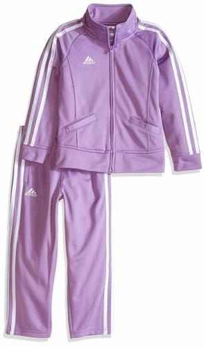 baby girls tricot zip jacket and pant