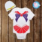 Baby Sailor Mars Sailor Moon Costume Newborn Baby Girl Cloth