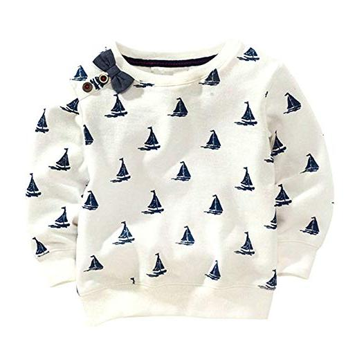 BCVHGD Baby Boys Kids Long Tops 2018 Clothes Girls Clothing 3T