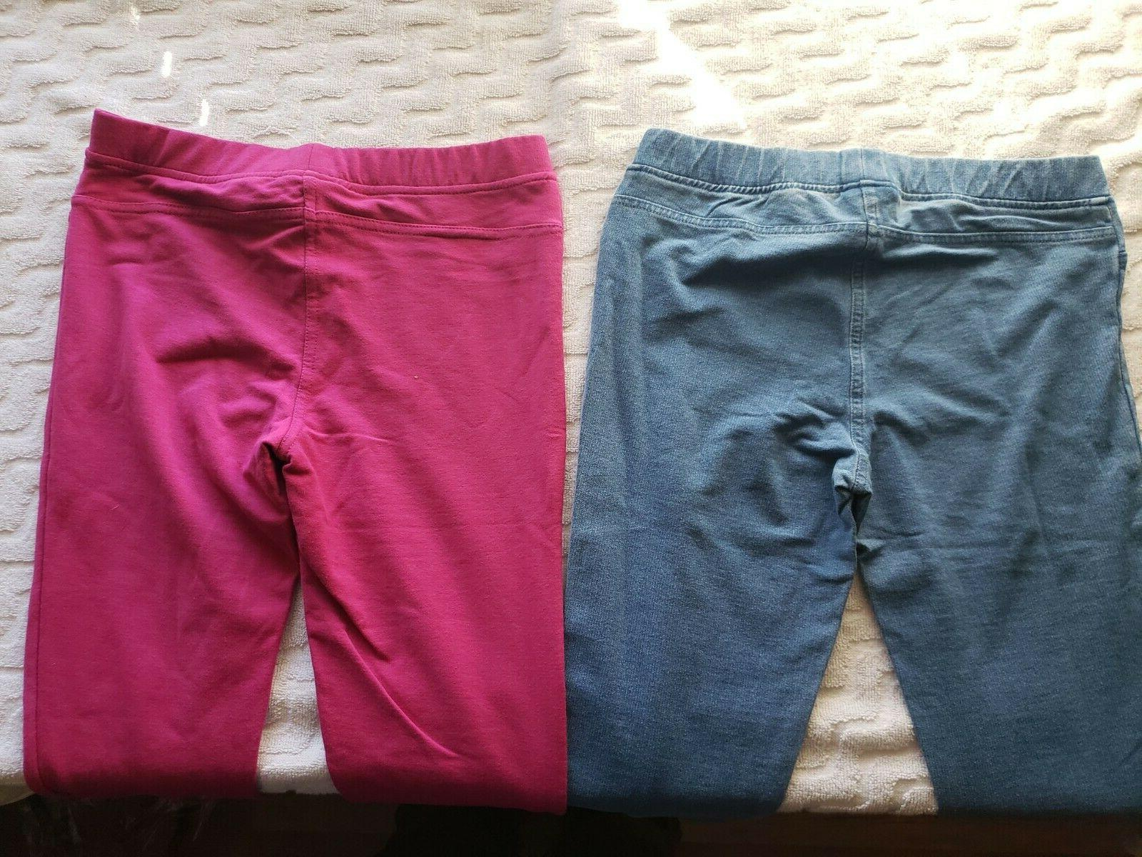 Spotted Big Girls' 2-Pack Knit Jeggings,