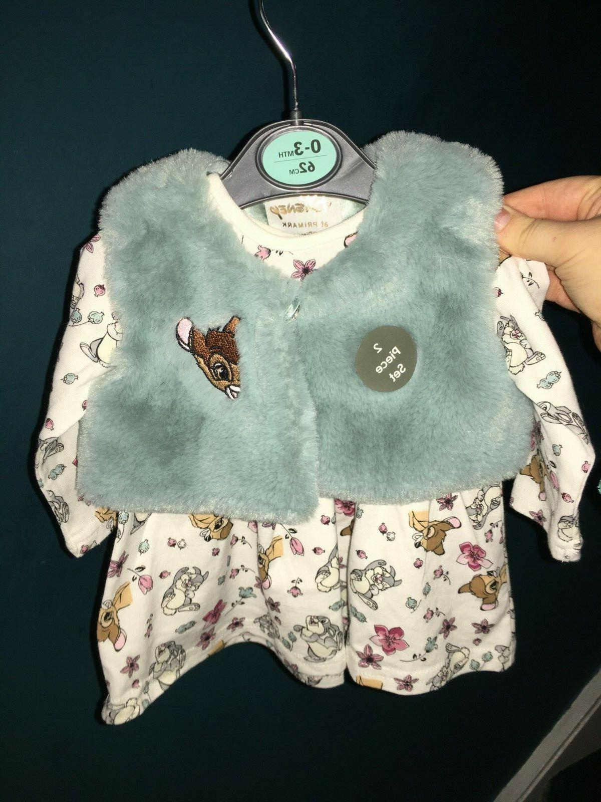 Primark Disney Bambi Clothing Outfit Bibs