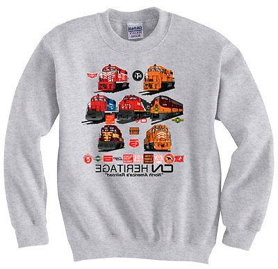 Canadian National Heritage Authentic Railroad Sweatshirt