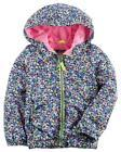 Carter's Big Girls' Floral Print Jersey Lined Jacket Size 4