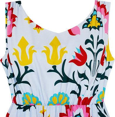 Sunny Fashion Girls Flower Print With