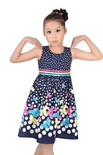 Girls Dress Butterfly