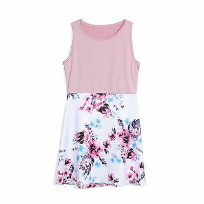 Family Matching Girl Mother Floral Dress