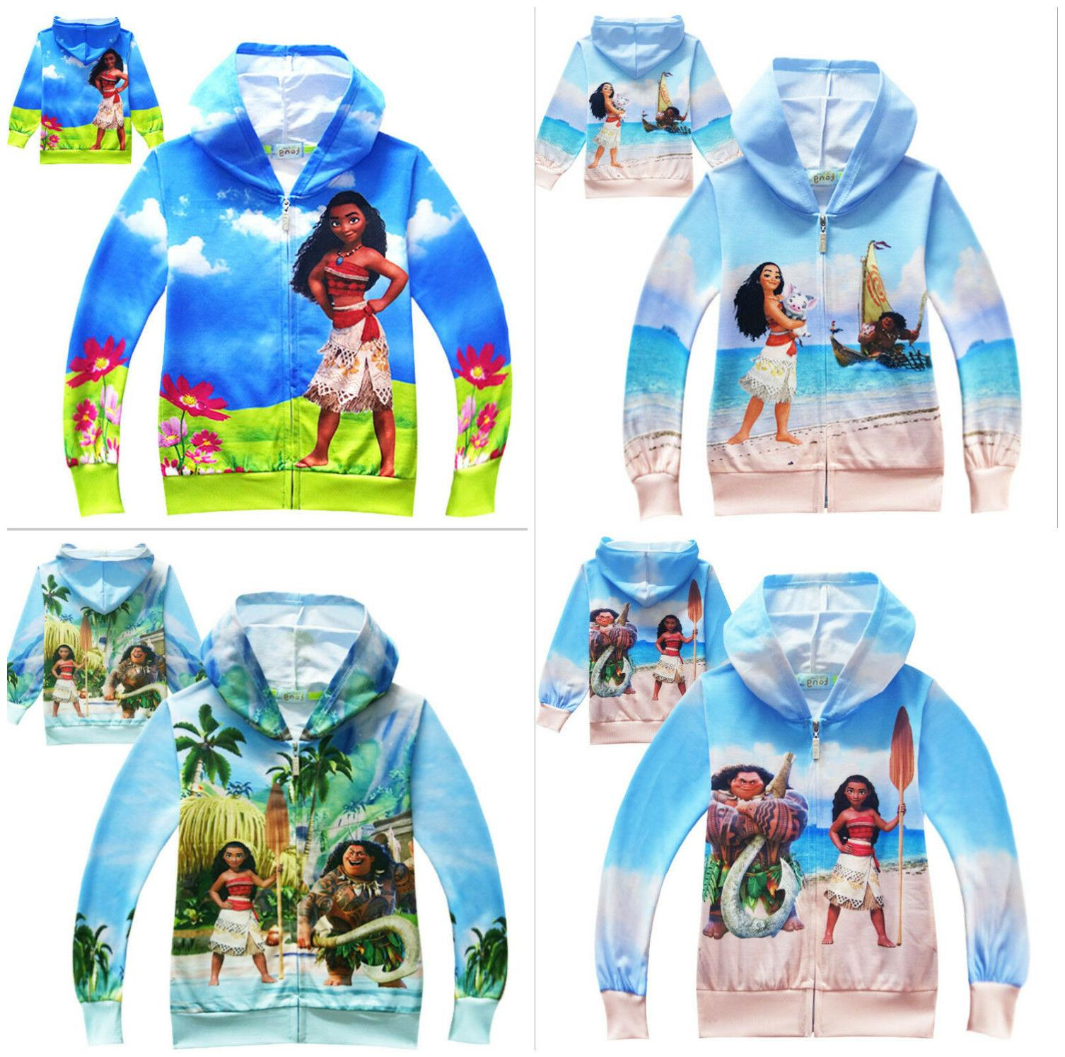 fashion kids boys girls cute moana maui