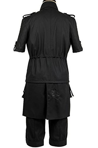 SIDNOR FF15 XV Lucis Noct Jacket Hoodie Costume