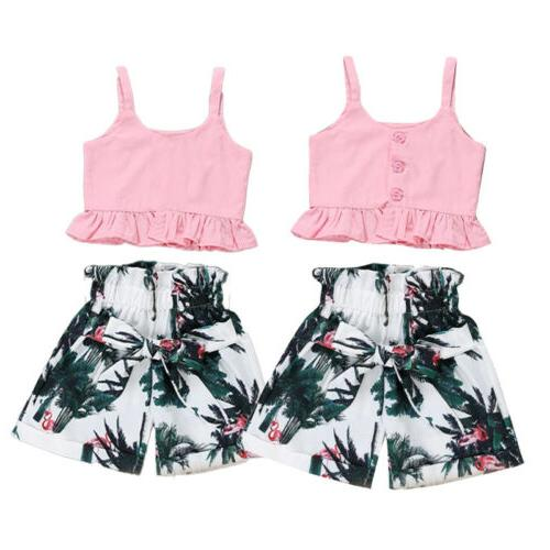 USA Toddler Short Clothes Summer