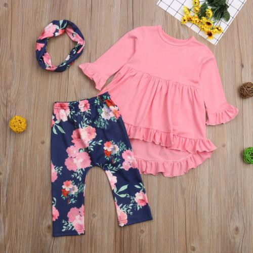 Floral Toddler Pants Outfits US