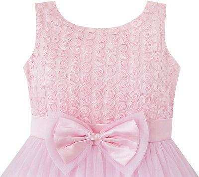 Flower Girl Flower Pink Child Clothes