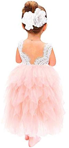 girl beaded peony lace back a line