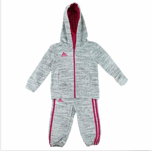 Adidas Girls 2 Piece Jacket Pants Athletic Tracksuit Set  Si