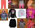NIKE GIRLS 4T ~ 12pc WINTER CLOTHING ~ DRI-FIT LEGGINGS ~ SW