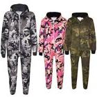 Girls Boys Fleece Camouflage A2Z Onesie One Piece Kids All I