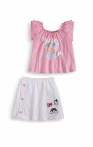 girls clothes 2pc skirt set size 4