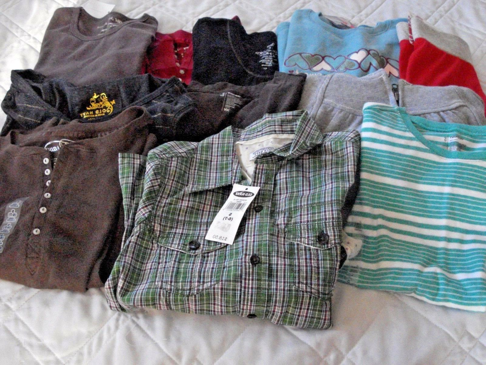girls clothes lot of 11 items tops