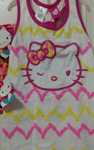 Hello Kitty top and 6-6X