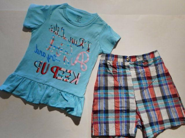 Girls Shorts to 2 PC 5/6-6X