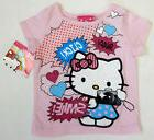 Hello Kitty Baby Girl Pink Clothes 12 Months Tee Top