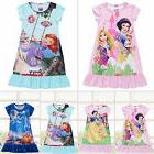 Infant Girl Nightwear Disney Princess Cartoon Charater Dress