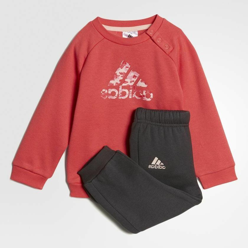 Adidas Infant Girls Sports Crew Jogger Full Tracksuit Kids C