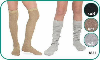 jefferies over the knee high socks sparkly