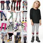 Kids Baby Girl Leggings Cotton Trousers Toddler Casual Schoo