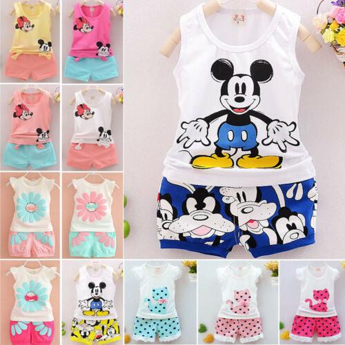 Kids Baby Outfits Pants Leggings Jeans Clothes Set