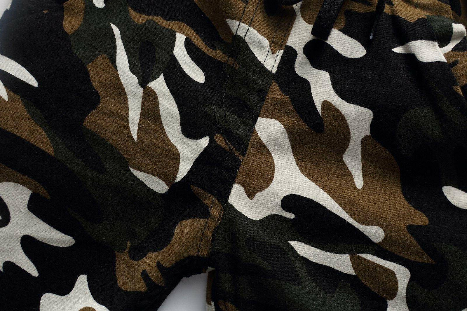 Kids Clothing Clothes Boy Camouflage Trousers