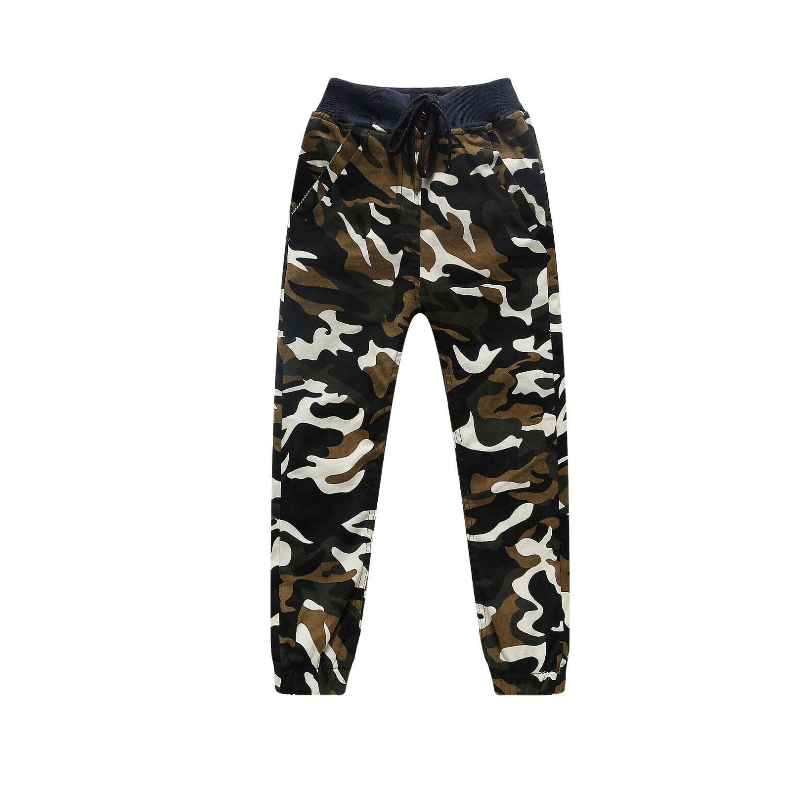 Kids Clothing Camouflage Bottoms