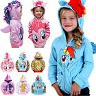 Kids Girls Baby My Little Pony Wing Hoodies Toddler Hoody Sw