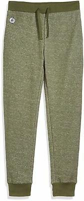 Kid Nation Kids' Solid French Terry Jogger for Boys Girls XL