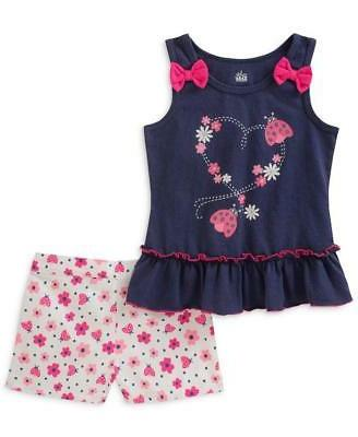 little girls 5 6 ladybug tank top