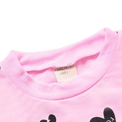DDSOL Little Girls Hoodie Top+Long