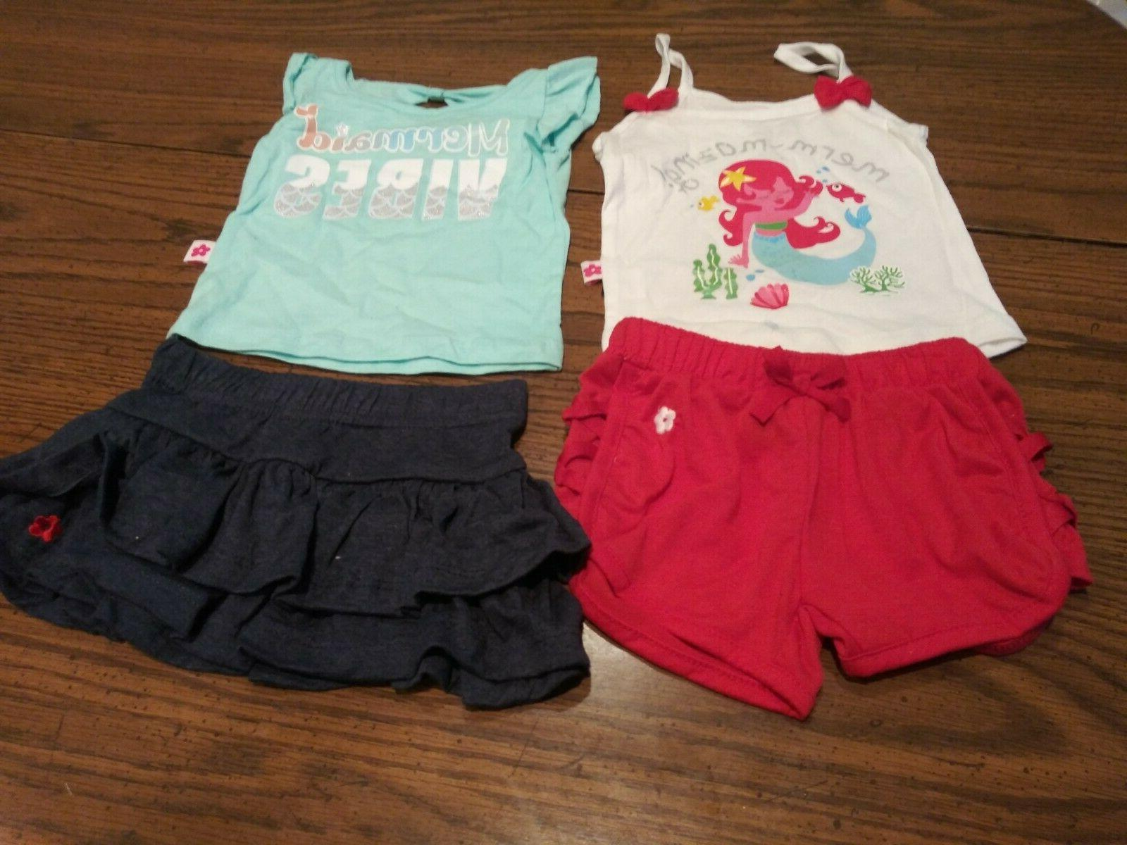 Lot of 4PC LIMITED TOO  Toddler Girls Clothes 12M