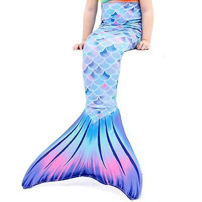 Play Tailor Mermaid Tail Swimmable Costume Swimsuit for Girl