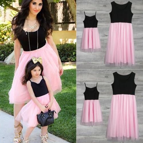 Mother and Daughter Clothes Parent-child dress Outfits Baby
