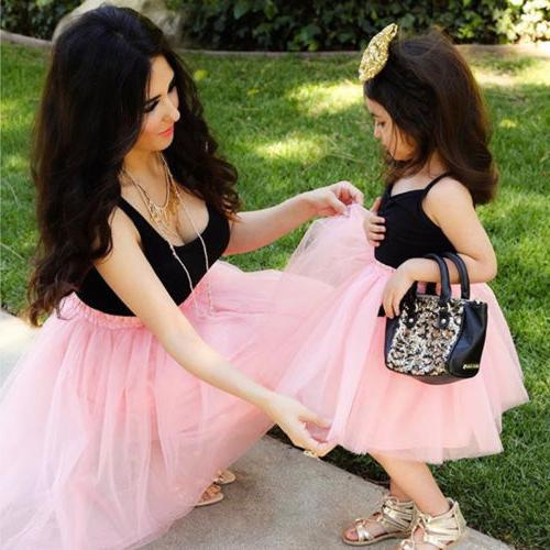 Mother Daughter Clothes Outfits Baby