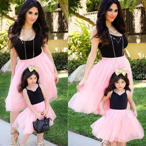 Mother Parent-child Outfits Baby Girl