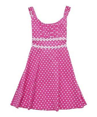 new daisy chain dots dress girls clothes