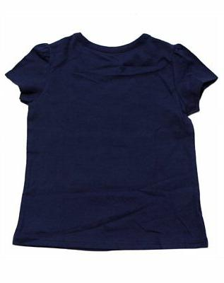 NEW GIRLS KITTY T-SHIRT BLUE UCONN