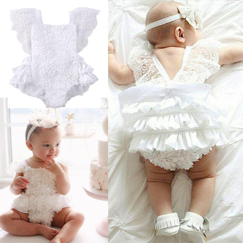 New Kids Baby Clothes Floral Jumpsuit Stock
