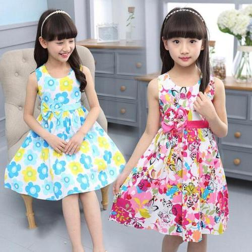 New Dresses Girls Clothes Cotton