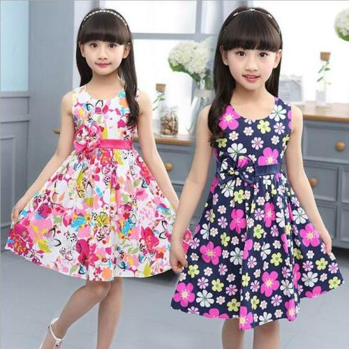 new summer floral girl dresses girls clothes