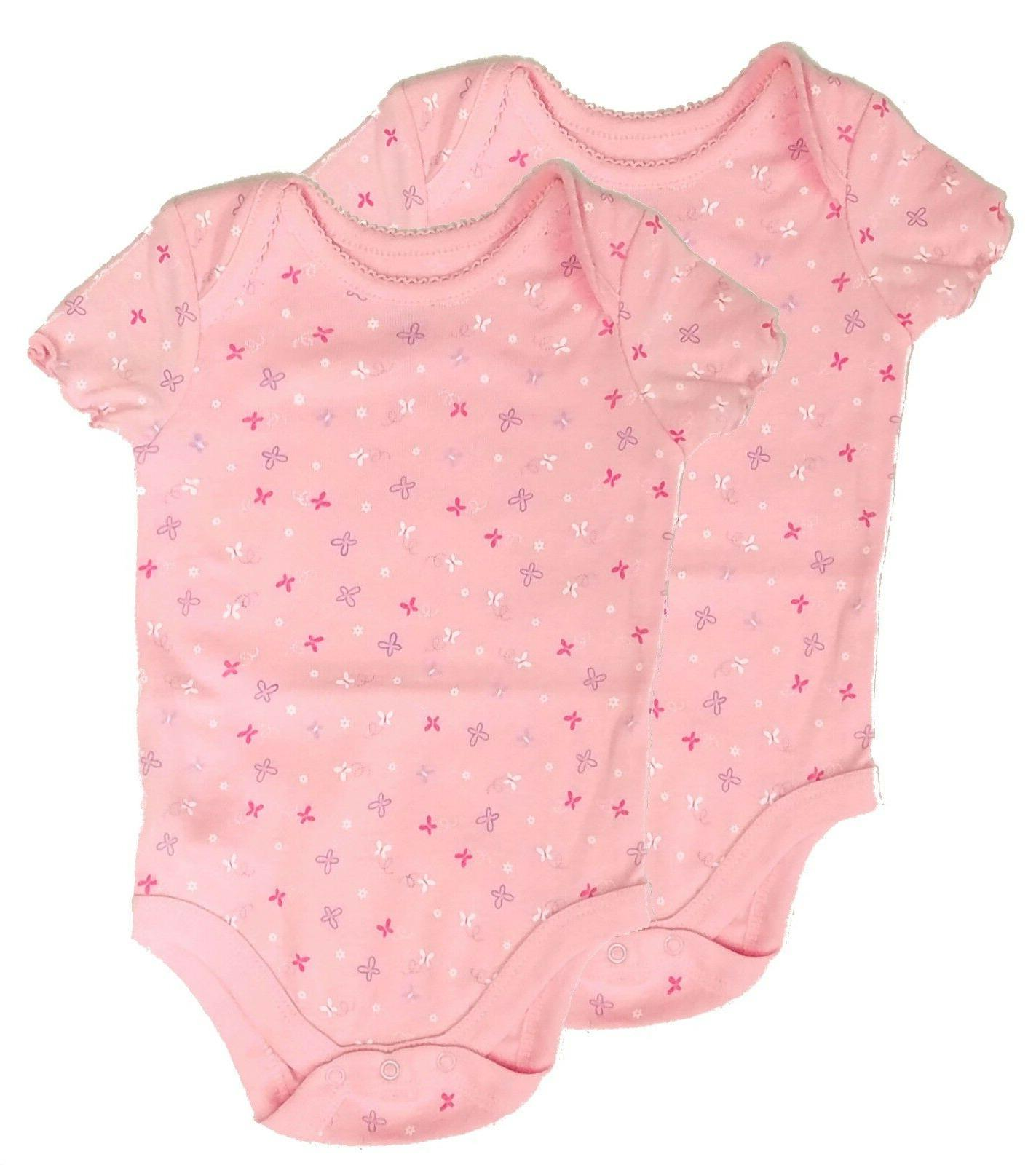 newborn baby girl bodysuit clothes set 2