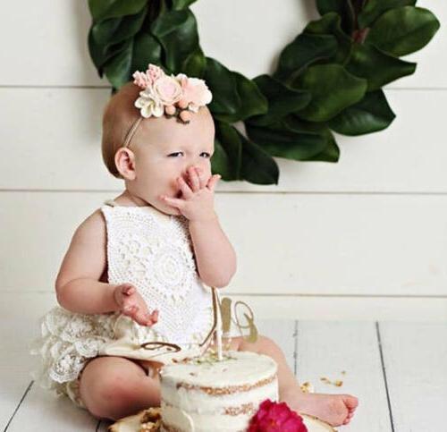 US Baby Hot Girl Clothing Lace Romper Bodysuit